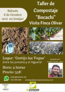 "Taller de Compostaje ""Bocachi"" - Visita Finca Olivar"